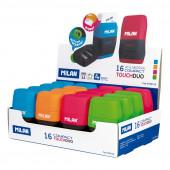 Conjunto Borracha + Afia Duplo Compact Touch