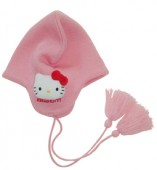 conjunto cachecol e gorro hello kitty apple