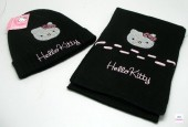 Conjunto Cachecol+Gorro Hello Kitty
