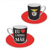 Conjunto Café Dia da Mãe SLB