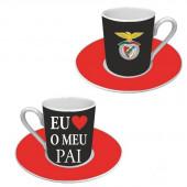 Conjunto Café Dia do Pai SLB