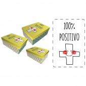 Conjunto caixas presente Baggy Positivo