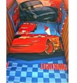 Conjunto cars cama de grades