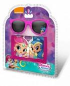 Conjunto carteira + óculos Shimmer e Shine