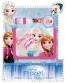Conjunto carteira + relógio digital Disney Frozen