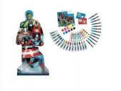 Conjunto Colorir com a Forma Avengers