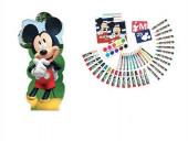Conjunto Colorir com a Forma Mickey