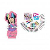 Conjunto Colorir com a Forma Minnie