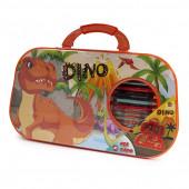 Conjunto Colorir Dinossauro