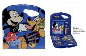 Conjunto Colorir Rígido 40 peças Mickey