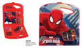 Conjunto Colorir Rígido 40 peças Spiderman