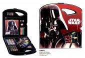 Conjunto Colorir Rígido 40 peças Star Wars