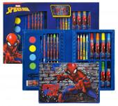 Conjunto Colorir Spiderman 34 peças