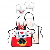 Conjunto cozinha Minnie - I love Mickey