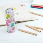 Conjunto de 12 lápis de cor Baía do Flamingo