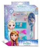 Conjunto de 8 acessórios de cabelo de Frozen