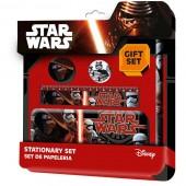 Conjunto de Papelaria de 5 Peças Star Wars