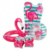 Conjunto de Piscina Flamingo