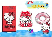 Conjunto de Piscina/Praia Hello Kitty