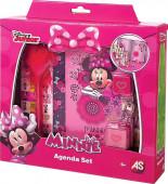Conjunto Diário Minnie com acessórios