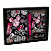 Conjunto Diario Minnie Disney Art