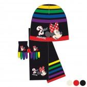 Conjunto Disney Gorro + Cachecol + Luvas Minnie