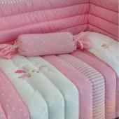 Conjunto Edredon cama bebé Night várias cores