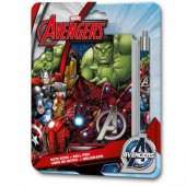 Conjunto Escolar 3D Avengers