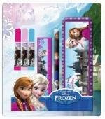 Conjunto escolar Frozen Pink 6 pcs