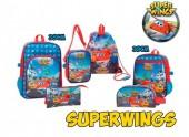 Conjunto Escolar Super Wings 6 Peças - Aiport