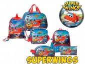 Conjunto Escolar Super Wings 6 Peças - Mundo