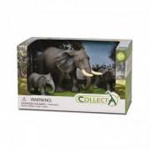 Conjunto Figuras 3 Elefantes
