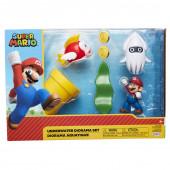 Conjunto Figuras Super Mario - Underwater