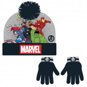 Conjunto Gorro e Luvas Avengers Marvel