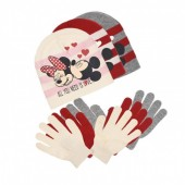 Conjunto Gorro e luvas Disney Minnie - sortido
