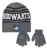 Conjunto Gorro e Luvas Harry Potter