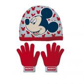 Conjunto Gorro e Luvas Mickey Disney