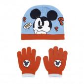 Conjunto Gorro e Luvas Mickey Hey