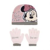 Conjunto Gorro e Luvas Minnie Style
