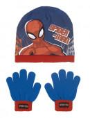 Conjunto Gorro e Luvas Spiderman