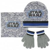 Conjunto Gorro + luvas + gola Polar - Star Wars