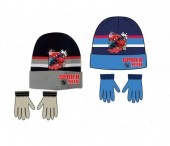 Conjunto Gorro + luvas Marvel Spiderman