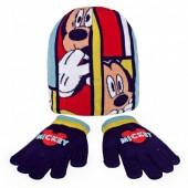 Conjunto Gorro + Luvas Mickey Heart