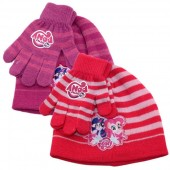 Conjunto Gorro + Luvas My Little Pony