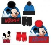 Conjunto Gorro Premium + luvas Mickey Mouse