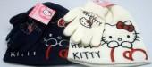 Conjunto Hello Kitty Gorro+Luvas