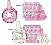 Conjunto Inverno Hello Kitty