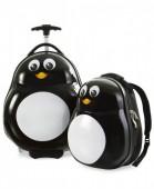 Conjunto mala viagem e mochila Heys Kids - Pinguin