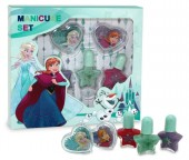 Conjunto Manicure Elsa e Anna Frozen