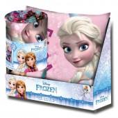 Conjunto Manta e Almofada Disney Frozen